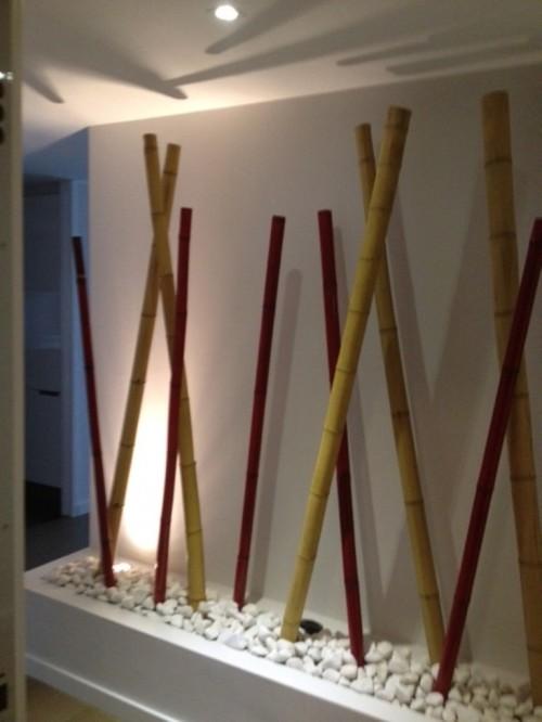 Omb decoraci n jardiner a - Canas de bambu decoracion exterior ...